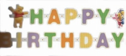 "Letterslinger  "" Happy Brithday "" Winnie the Pooh"