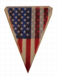 """Vlaggenlijn  """" Amerikaanse vlag  """""""