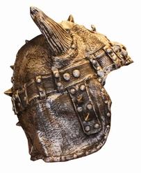 "Ridder helm  "" Met hoorns  "" Rubber"