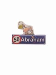 """Button """" Abraham """""""