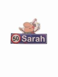 """Button """" Sarah """""""