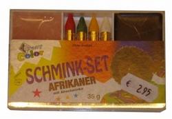 """Schmink set  """" Afrikaan """""""