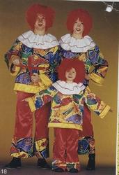 "Clowns kostuum  "" Muziekinstrumenten """