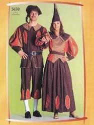 Burchtheer kostuum