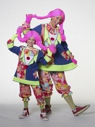 """Clowns meisje  """" Neon """""""