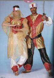 "Sultan  "" Rood / goud / wit """