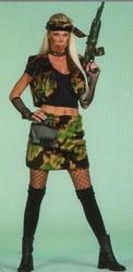 """Soldaten vrouw  """" Bont """""""