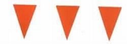 """Vlaggenlijn  """" Oranje  """"  10 meter"""