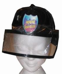Brandweer helm met klep