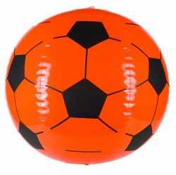 """Opblaasbare  """" Voetbal """"  Oranje"""