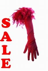 Handschoenen met boa