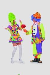 Sexy clowntje cirkel neon