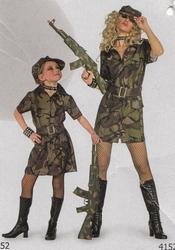 Soldaten jurk