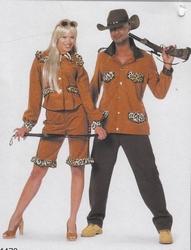 "Safari kostuum  "" Bruin """