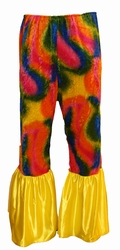 "Flower power broek  "" Multi """
