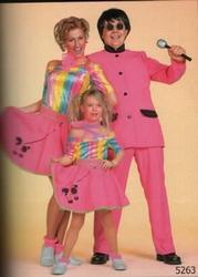 """Disco meisje  """" Topje + rokje """""""