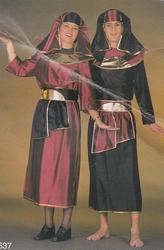 """Egyptenaar  """" Zwart / rood / zilver """""""