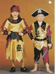 Piraten jurk
