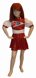 "Cheerleader  "" Rood """