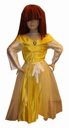 """Prinsessenjurk  """" Geel / wit """""""