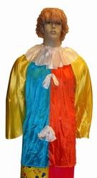"""Clownskiel  """" Geel / blauw / oranje / wit """""""