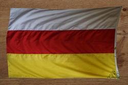Zuid Ossetië gevelvlag