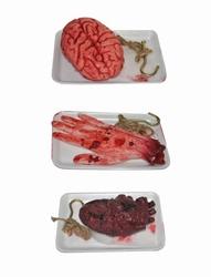 Horror hersenen op schotel
