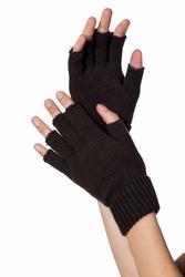 """Vingerloze handschoenen  """"  Zwart """""""