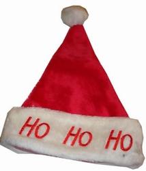 Kerstmuts met licht  `` Ho Ho Ho ``