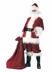 """Kerstman kostuum  """" Donker rood """""""