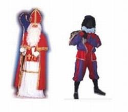 1 Sinterklaas + 3 Zwarte piet pakket