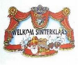 """Huldeplaat  """" Sint & Piet """""""