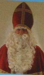 Sint baard / pruik / Wenkbrauw Professioneel