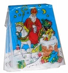 Vlaggenlijn vierkant `` Sint en Piet `` ( blauw )