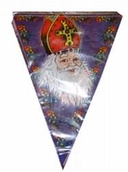 Vlaggenlijn `` Sint en Piet `` ( paars / rood )