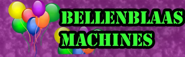 Bellenblaasmachines