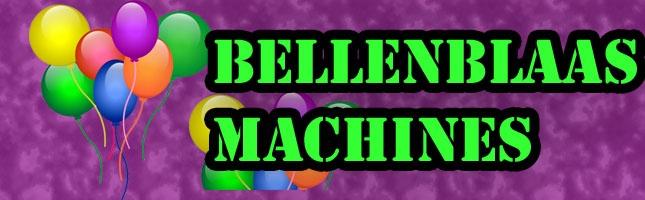 Bellenblaasmachines