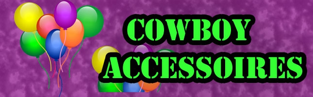 Cowboy accessoires