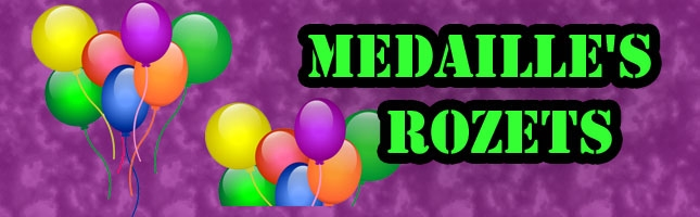 Medaille's / Rozets