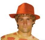 Oranje hoeden / diadeems